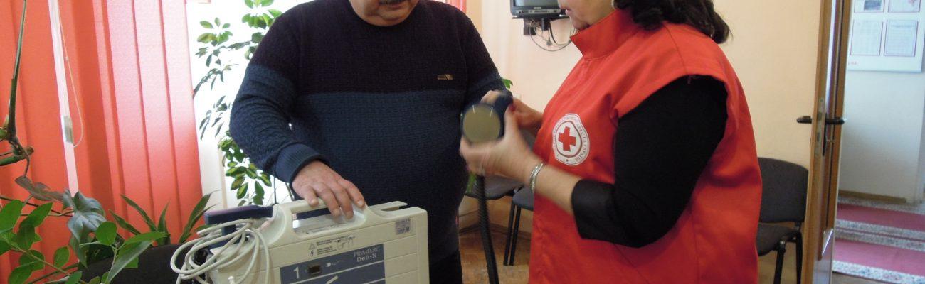 Любомльска лікарня отримала новий дефібрилятор